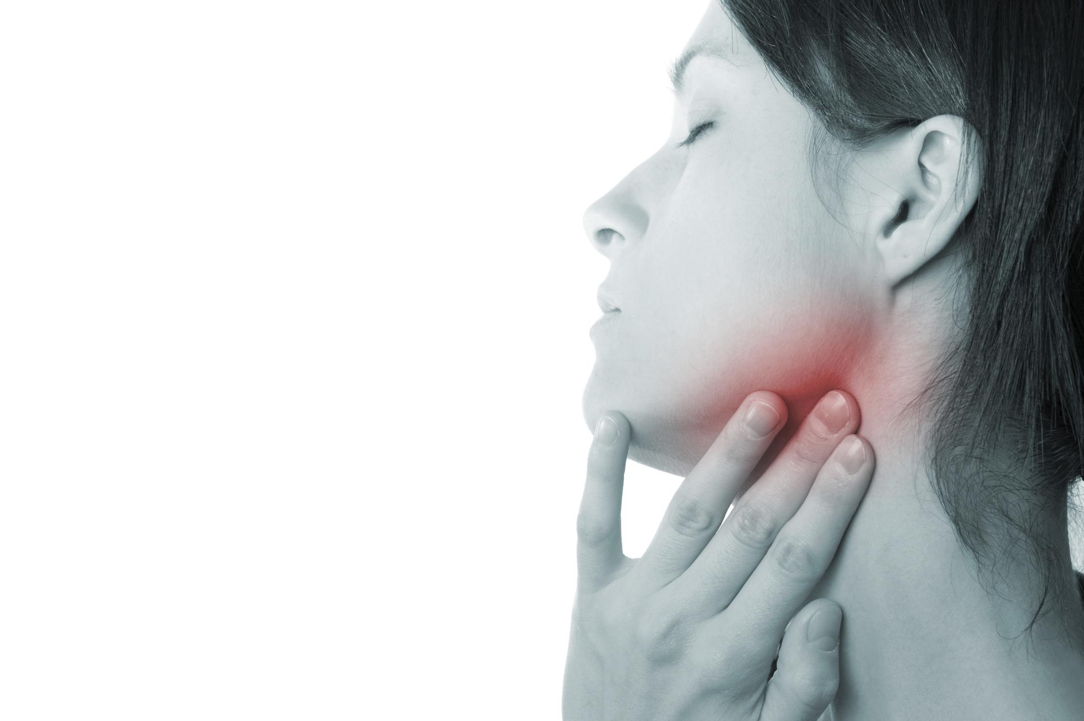 Подчелюстной лимфаденит: причины, симптомы, лечение