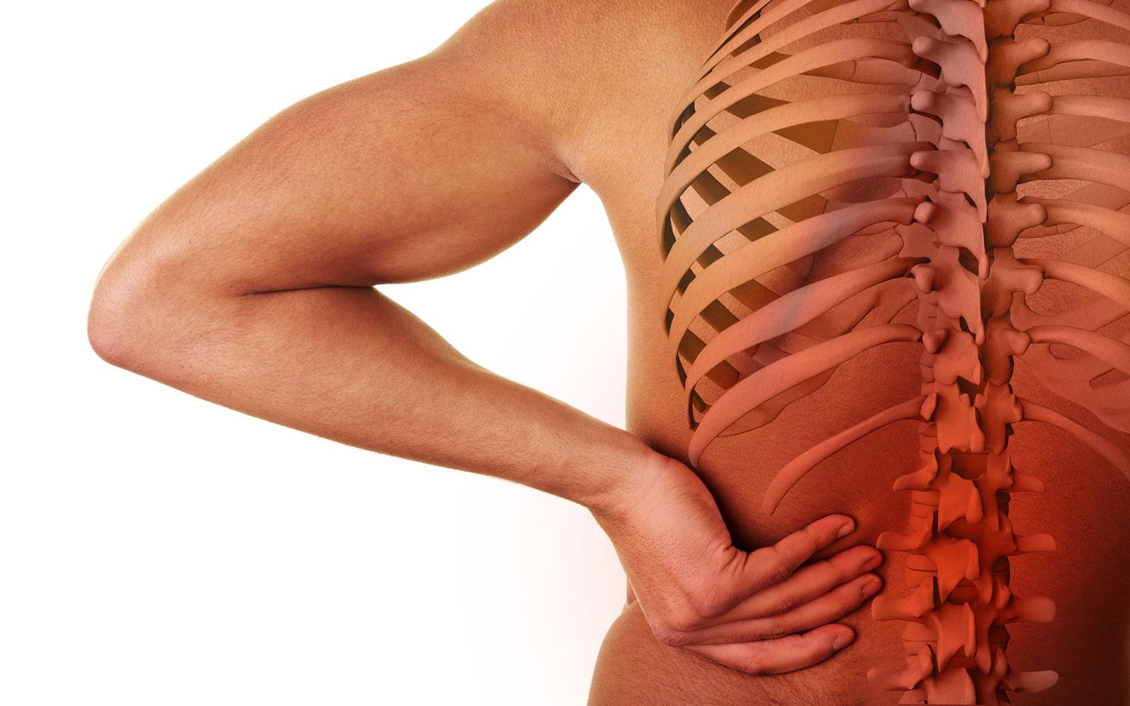 Лечение остеохондроза в грудном отделе в домашних  928