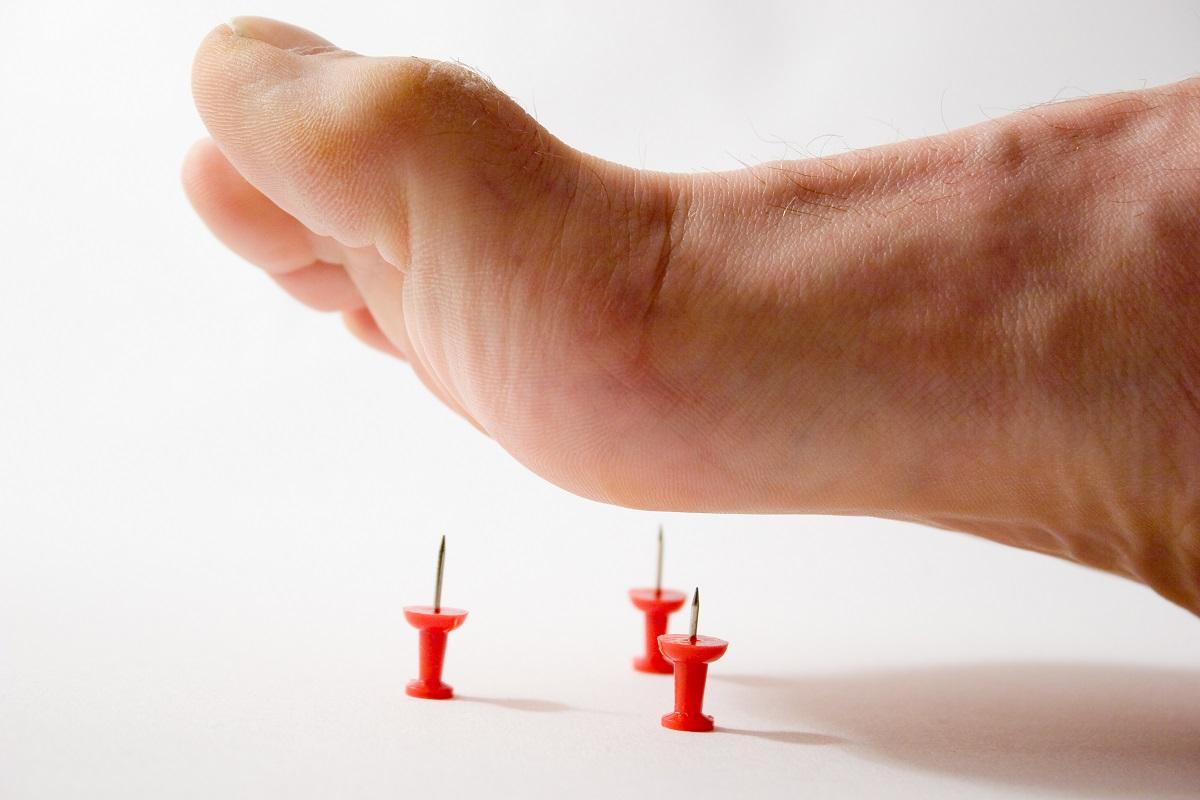 Немеет левая (правая) нога
