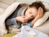 Девушка больна гриппом