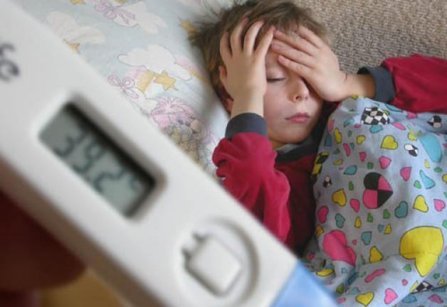Почему постоянно поднимается температура у ребенка