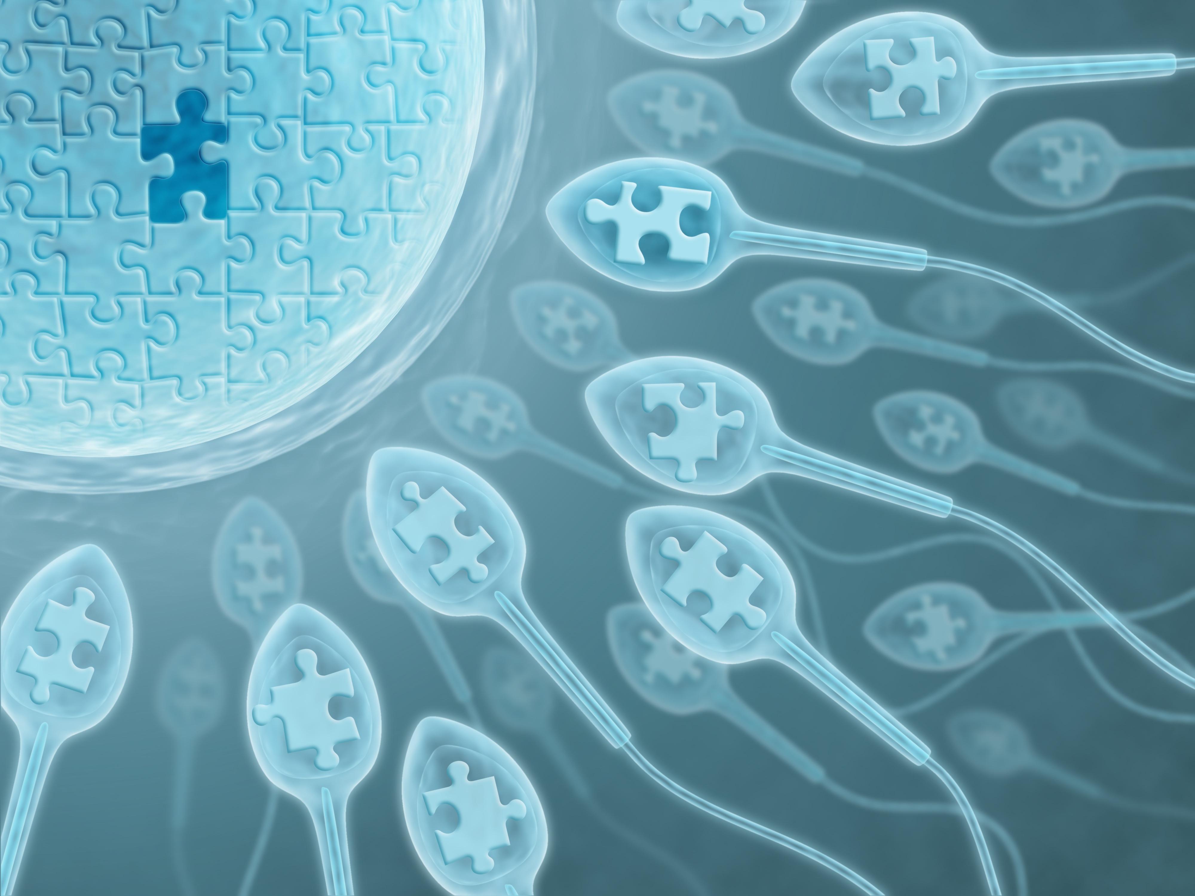 Сперма с розовым оттенком 6 фотография