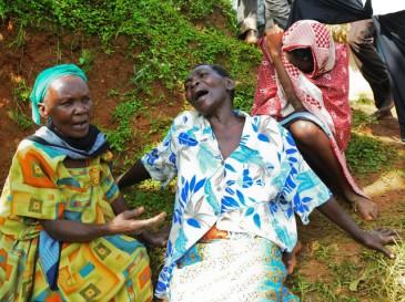 больные люди в Африке