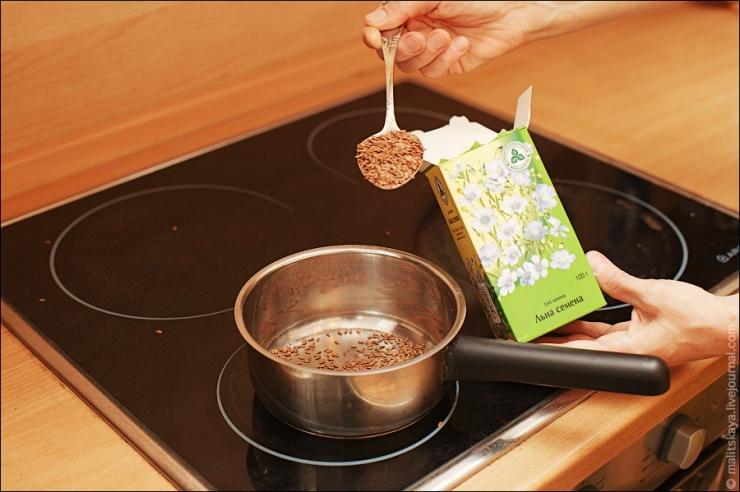 как приготовить кисель из льняного семени