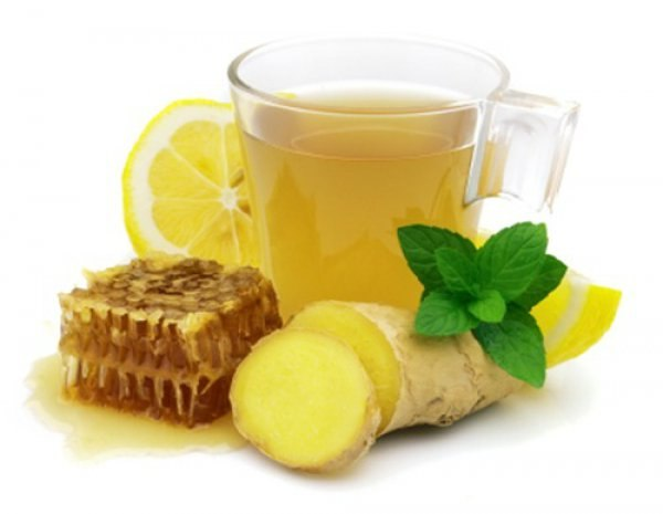 Имбирь, лимон и мёд
