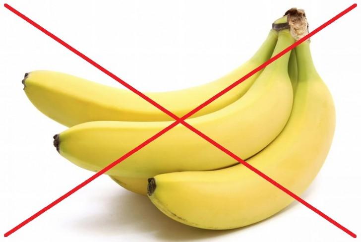 Зачёркнутые крестом бананы
