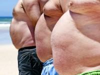 мужчины с ожирением