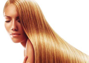 Блестящие длинные волосы
