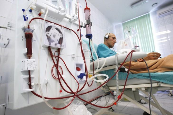 Процедура гемодиализа в клинике