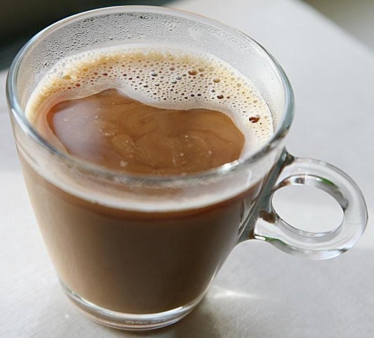 Цикорий с какао и молоком