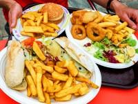 Жирная и жареная еда