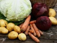 Свёкла, картофель, морковь, капуста