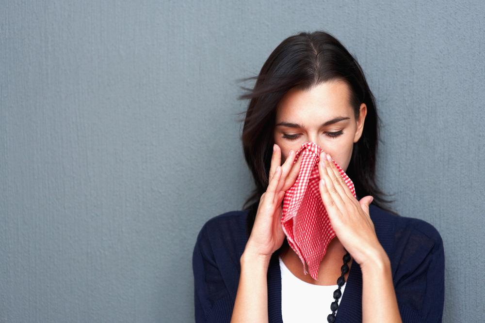 аллергия на морепродукты на лице