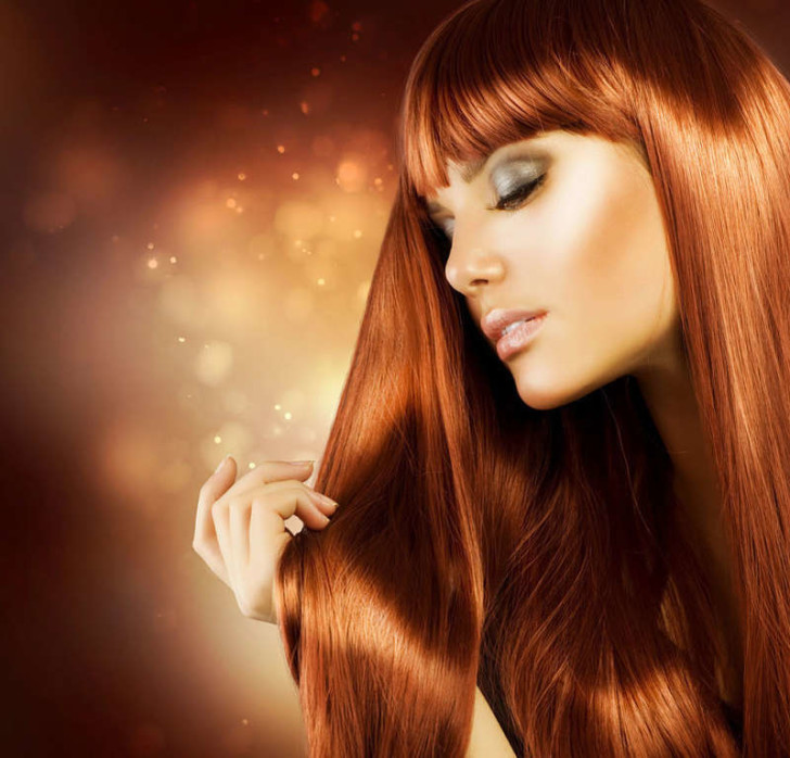 Здоровые и блестящие волосы