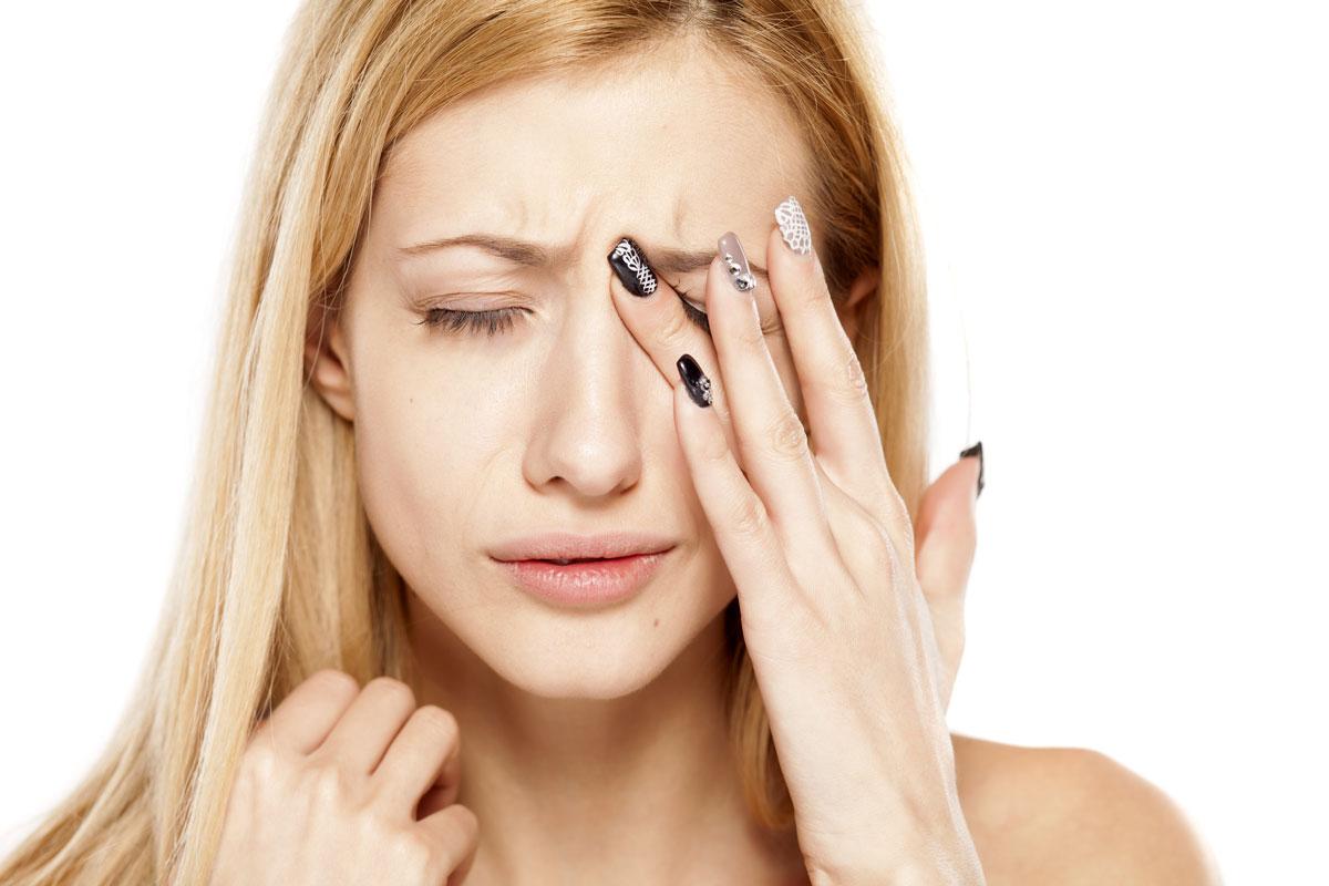 Признаки поражения глаз при синдроме приобретённого иммунодефицита