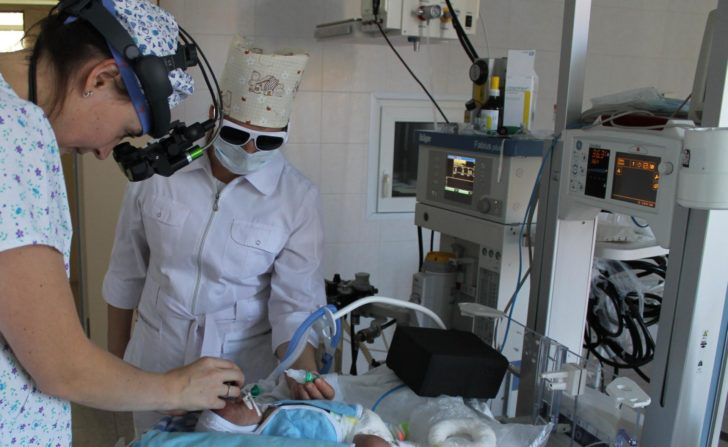 Диагностика ретинопатии недоношенных