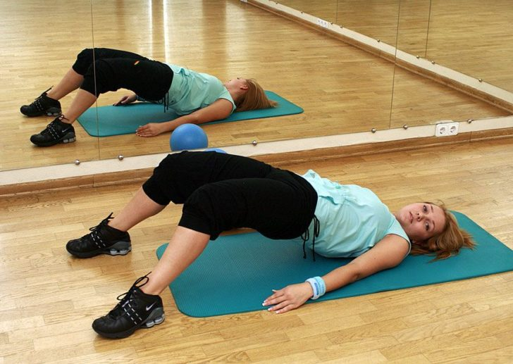 упражнение при симфизите