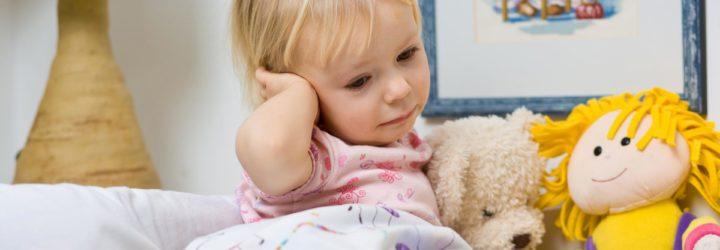у ребёнка болит ухо