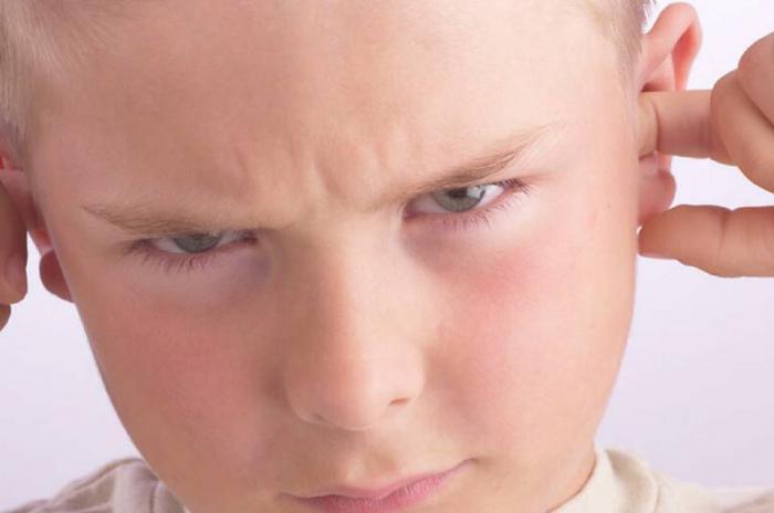 Снижение слуха у ребёнка