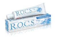 Зубная паста R.O.C.S. отбеливающая