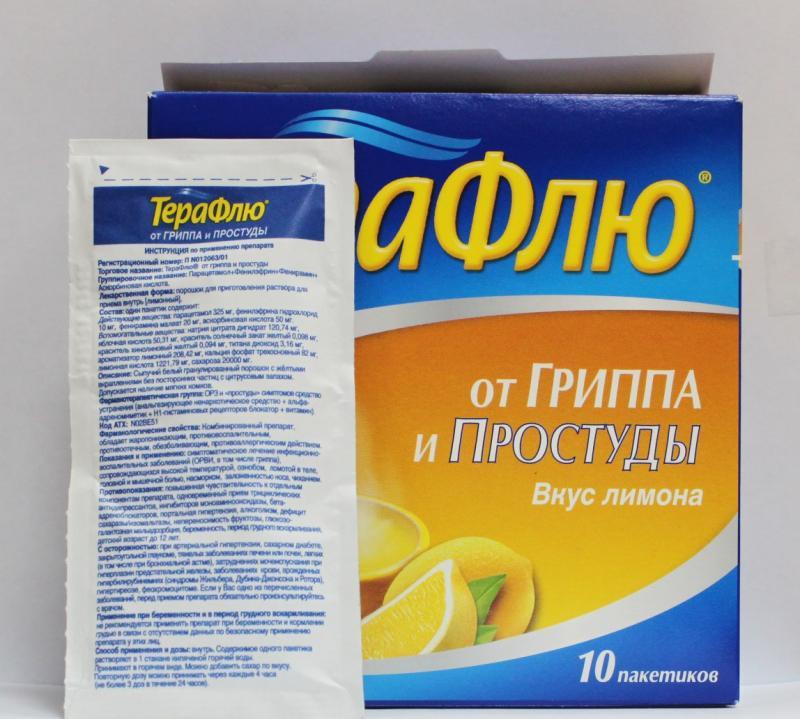 Применение препарата Терафлю при беременности: безопасность и инструкция