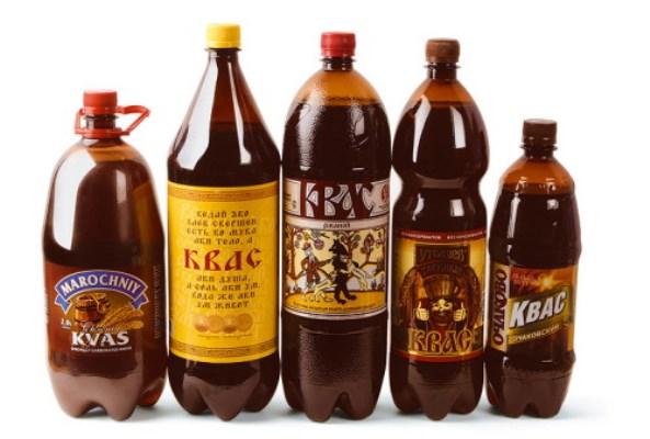 Квас в бутылках