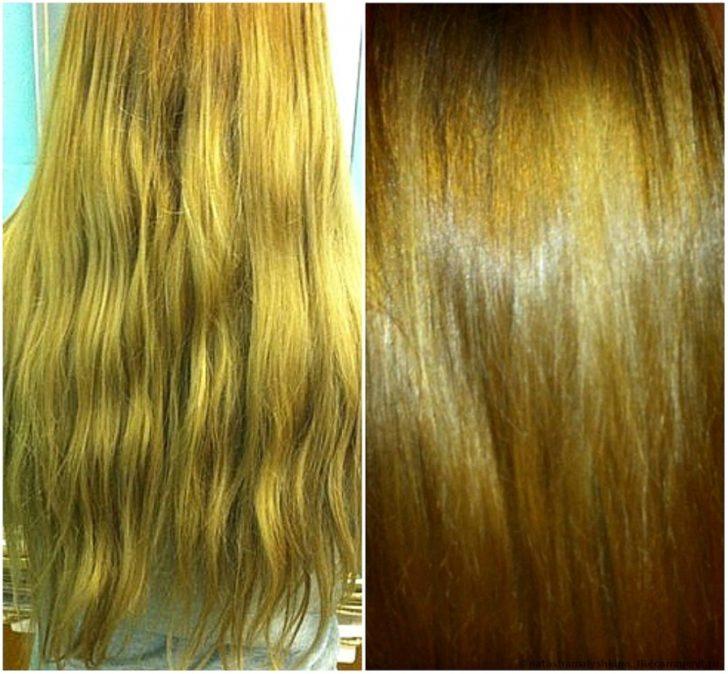 Действие Аевита на волосы: до и после использования