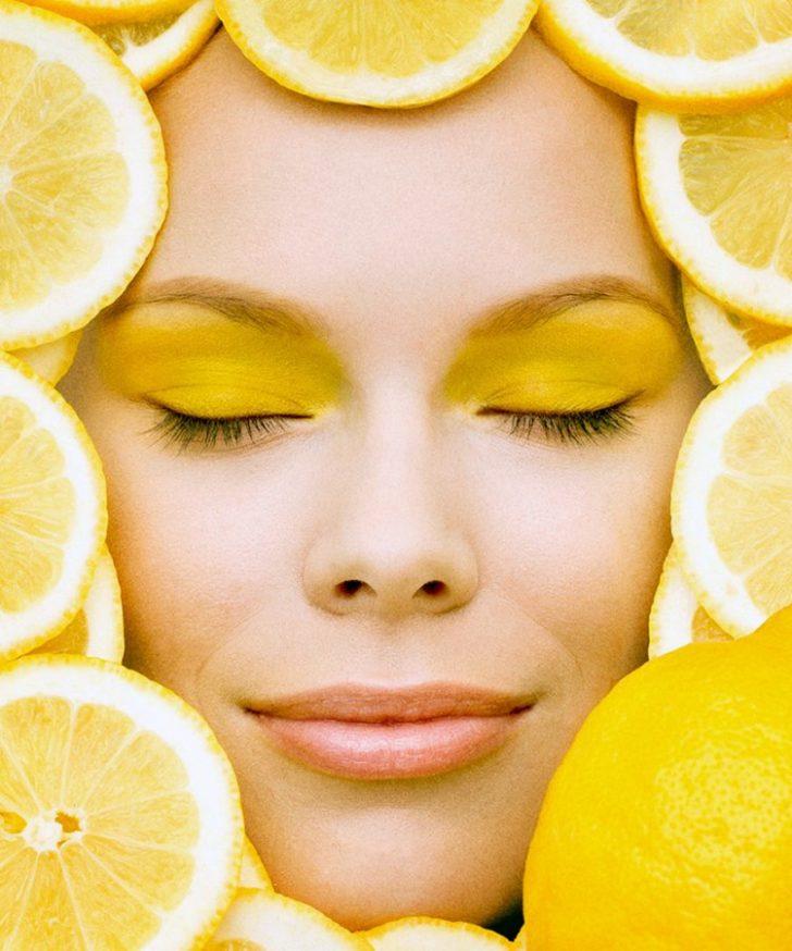 Лимон для лица