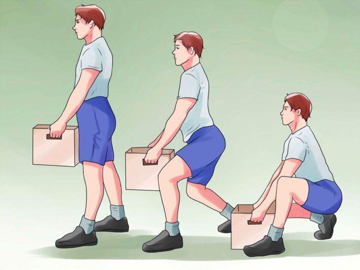 Правильное поднятие тяжестей