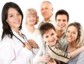 Семья у врача
