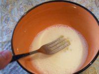 Приготовление белкового омлета