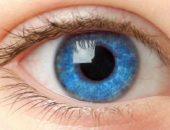 Глаз голубого цвета