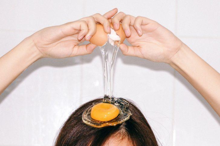 Яйца в косметологии
