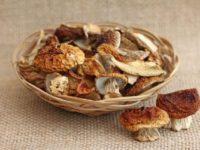 грибы сушеные белые