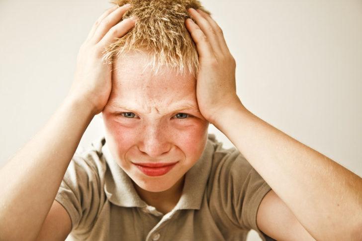 Головная боль у ребёнка