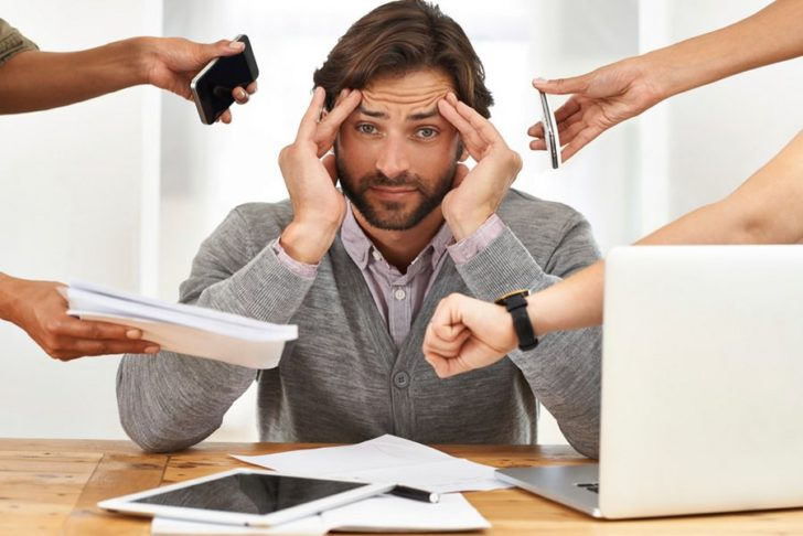 Человек в стрессовой ситуации