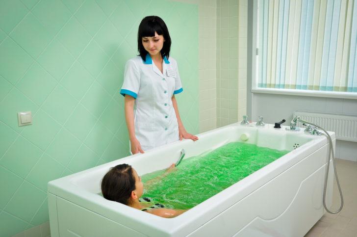 Лечебные ванны для ребенка