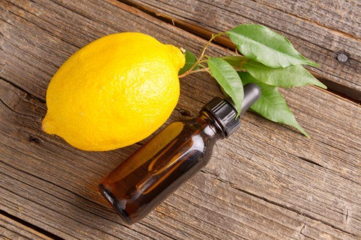 Лимон и масло чайного дерева