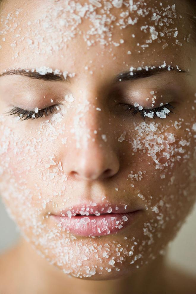 маска из соды и воды для лица