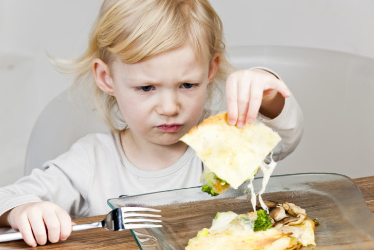 У ребёнка отвращение к еде