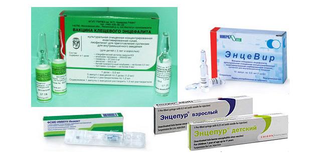 Средства профилактики клещевого энцефалита