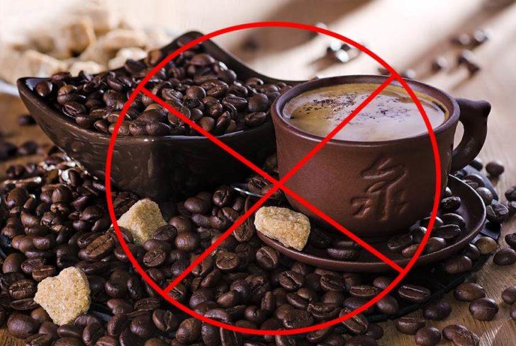 Крепкий кофе противопоказан