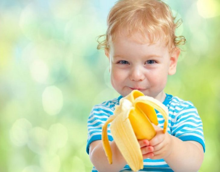 Банановое меню малыша