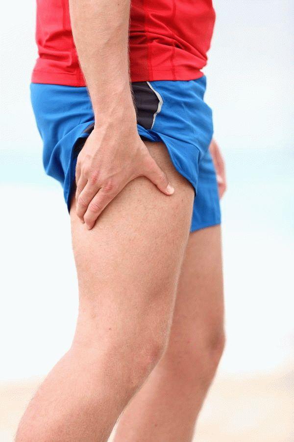 Боль в бедре ноги