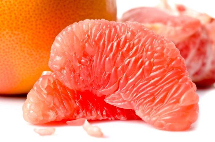 Грейпфрутовые дольки