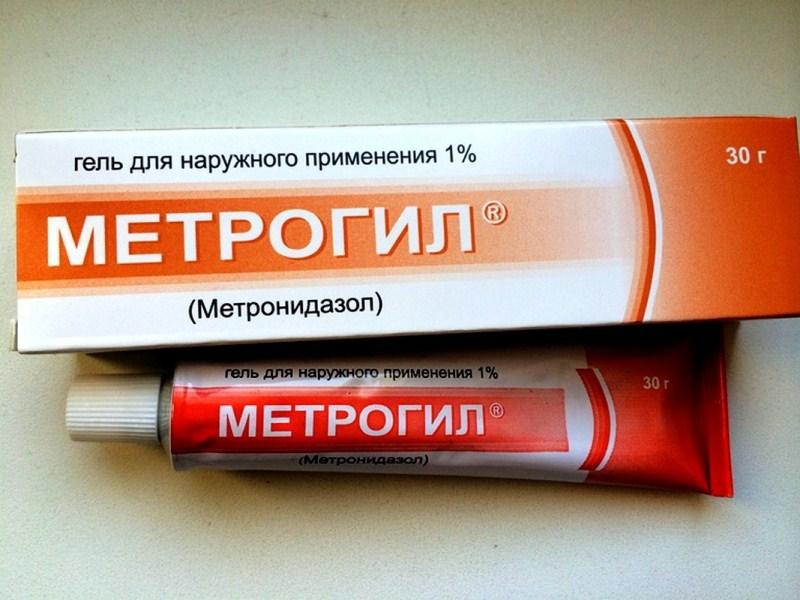 Метронидазол на прыщ