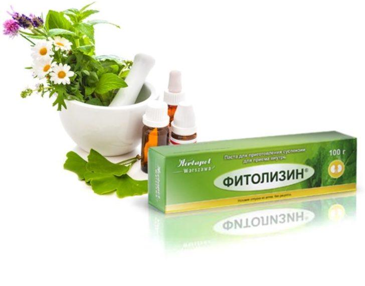 Лекарство от цистита Фитолизин