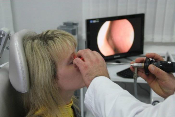 Обследование носа