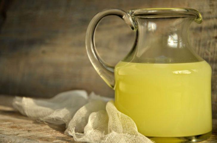 Лимонно-молочная сыворотка