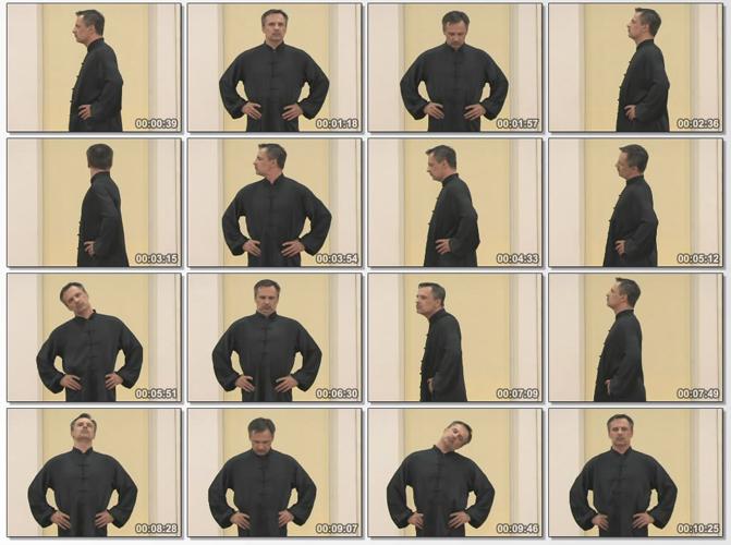 Упражнения Цигун для шеи